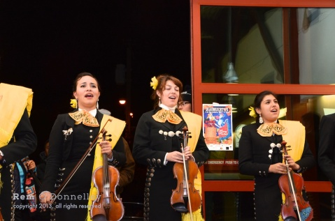 Members of Mariachi Femenil Orgullo Mexicano are the only female mariachi group in Northern California